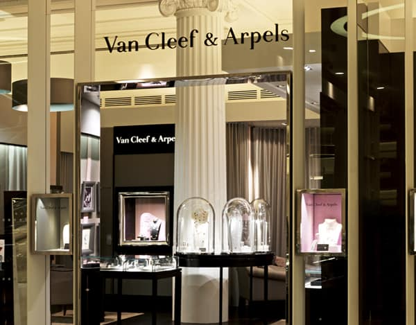 Van Cleef & Arpels opens in Selfridges London