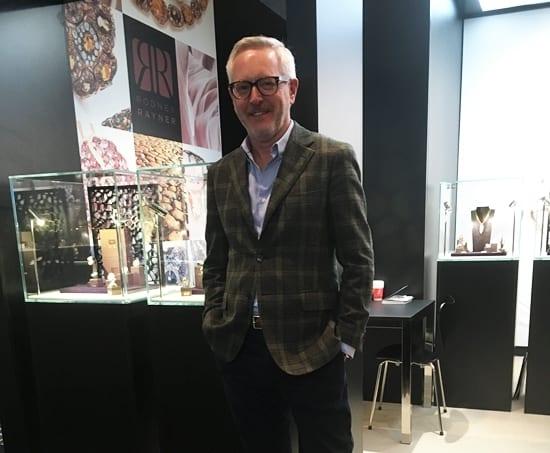 Jewellery News, Rodney Rayner at VicenzaOro