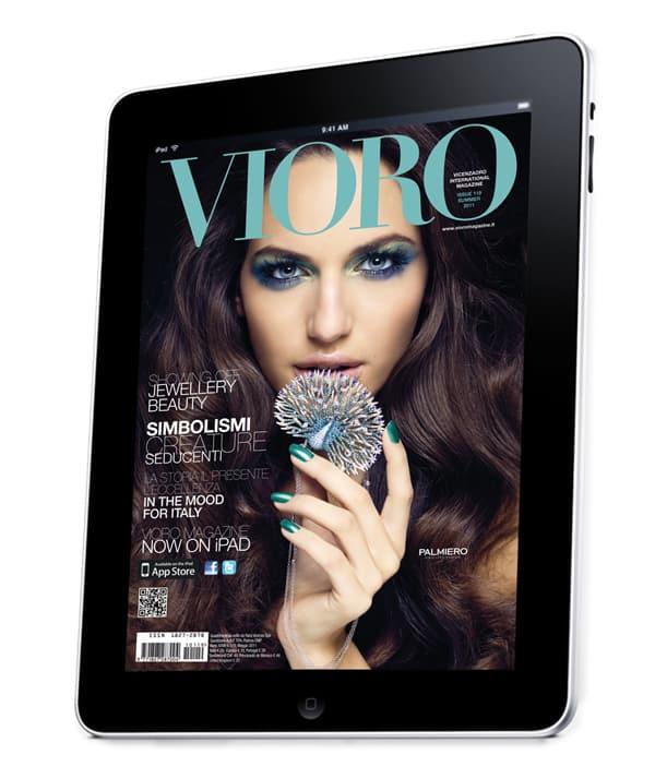 VICENZAORO magazine VIORO, Apple iPad, Charm 2011