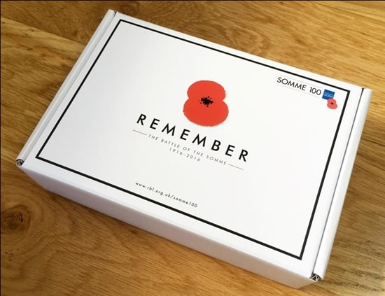 Weston Beamor to present involvement in Somme Poppy Pins project at IJL