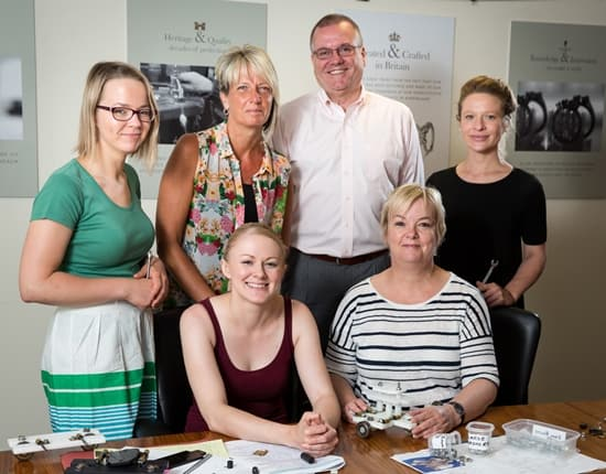 WB the Creative Jewellery Group introduces PERA Training