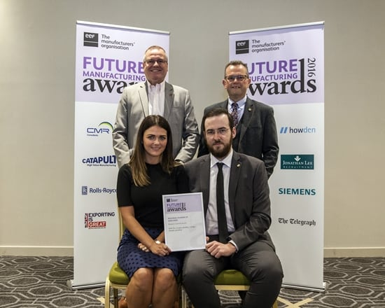 Wedding Ring Cell scoops Engineering Award for WB The Creative Jewellery Group