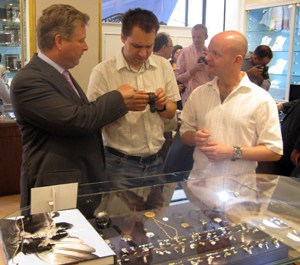 Collectors shop for world's finest watches at London event