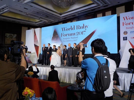 World Ruby Forum showcases Thai manufacturing prowess