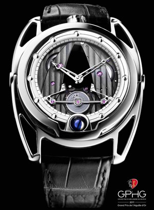 "De Bethune DB28 wins ""Aiguille d'Or"" 2011 prize in Geneva"