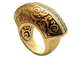 Yellow Gold Cordoba Ring