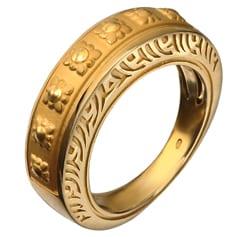 Yellow Gold Granada Ring
