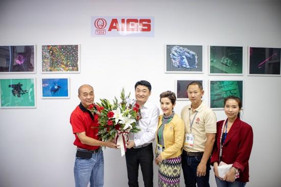 AIGS opens window at Chanthaburi gems market in Thailand