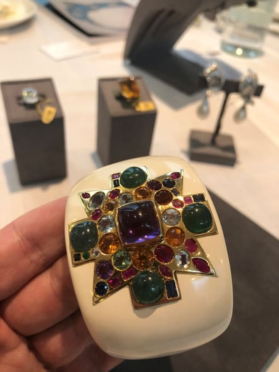 Selected jewels from collection of novelist Barbara Taylor Bradford to be sold at Bonhams