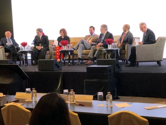 Panel at ICA