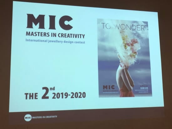 Global jewelry design contest Masters in Creativity (MIC) launches