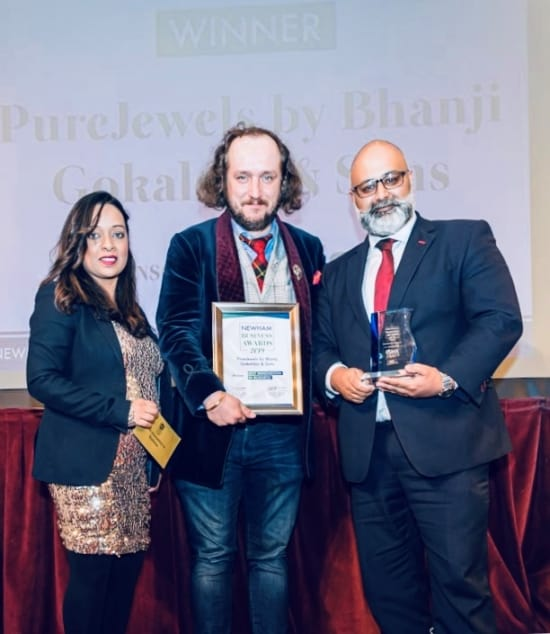PureJewels scoops two gongs at Newham Chamber of Commerce awards
