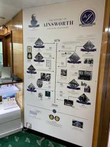 Ainsworth Jewellers - History