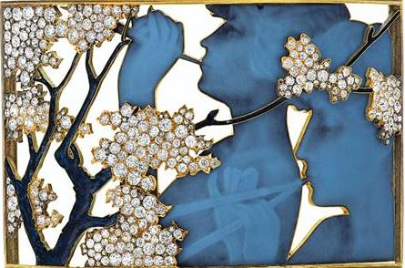 Christie's stage zoominar about Art Nouveau jewels
