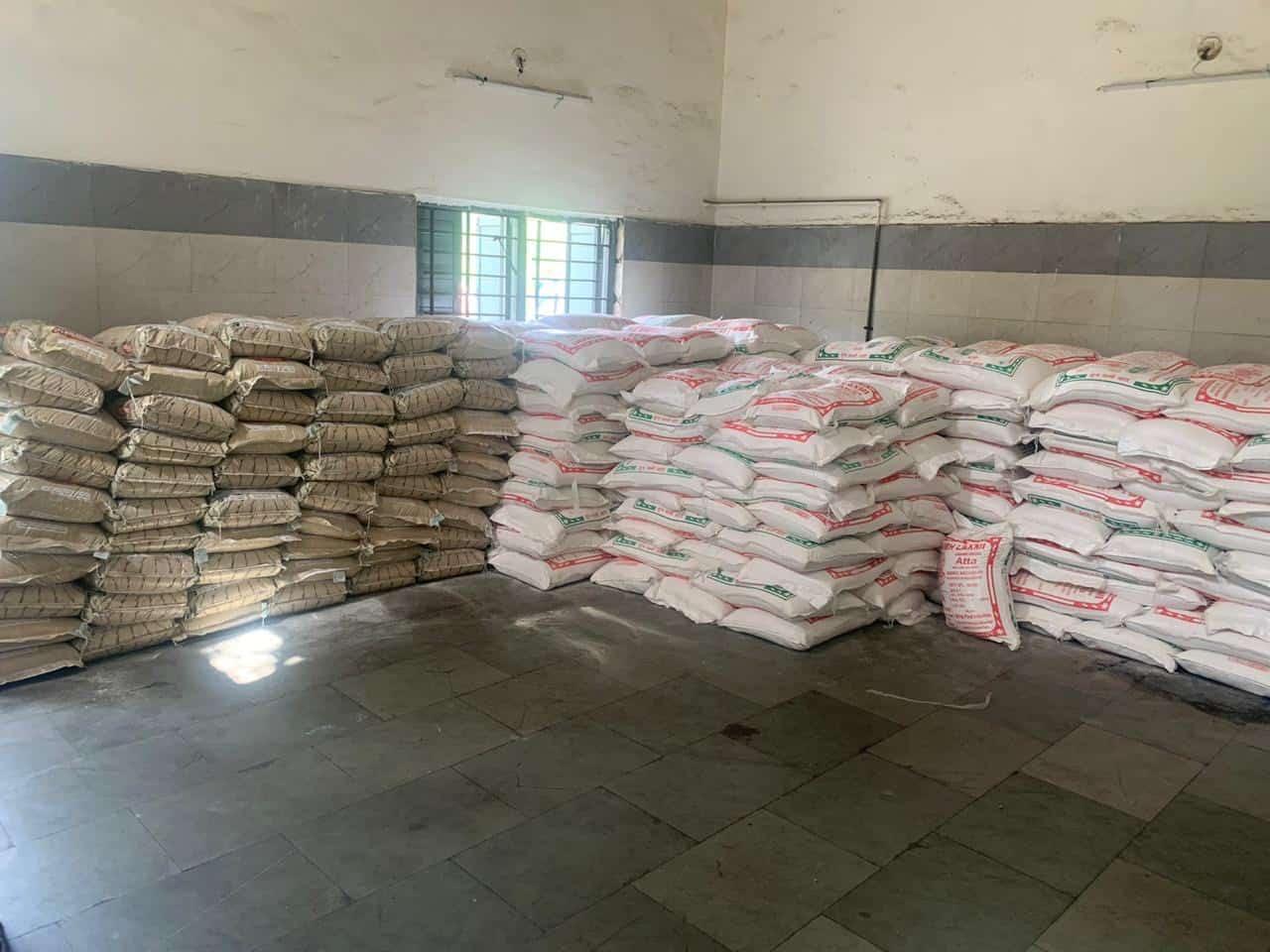 SRK food donation
