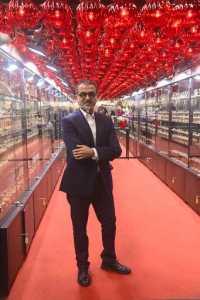 Designer Anil Bharwani finds inspiration all around him