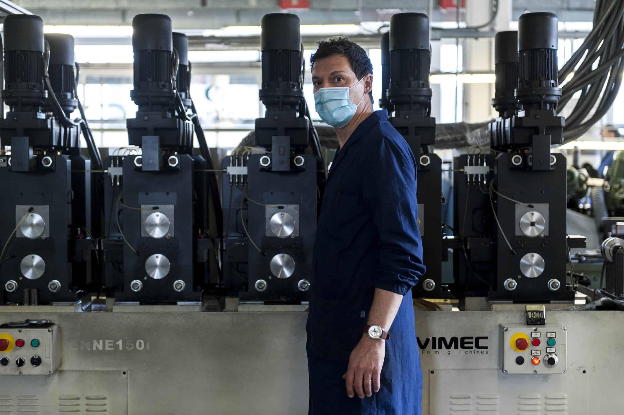 Italian fine jewellery brand FOPE reopens its factory