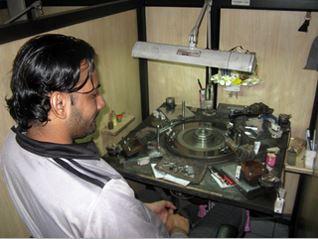 India-diamond-factory