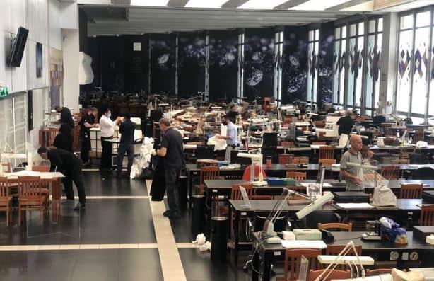 Israel Diamond Exchange opens trading floor