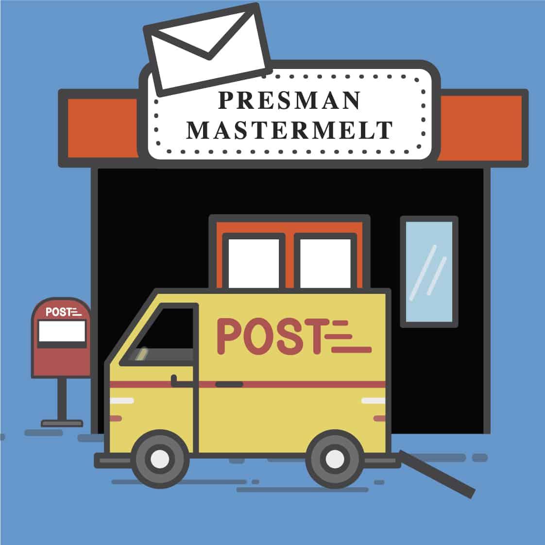 Presman Mastermelt's postal service reopens