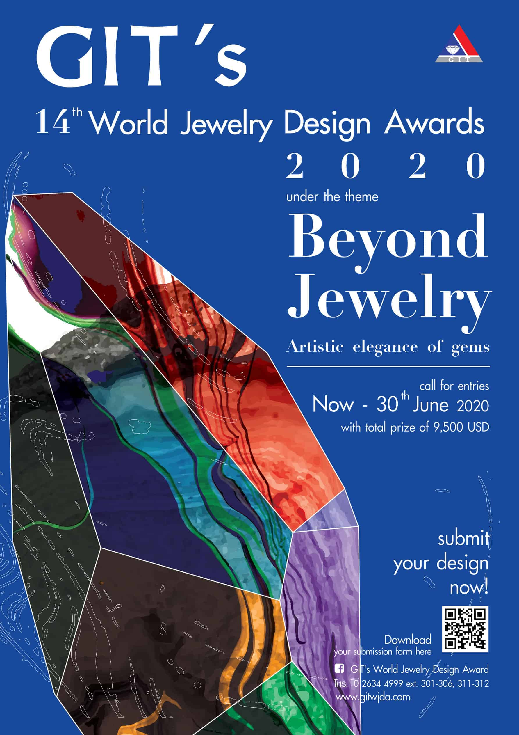 Thailand's GIT World Jewelry Design Award contest is open to applications