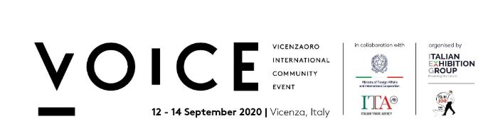 Italian Exhibition Group and Vicenzaoro give VOICE to gold and jewellery world