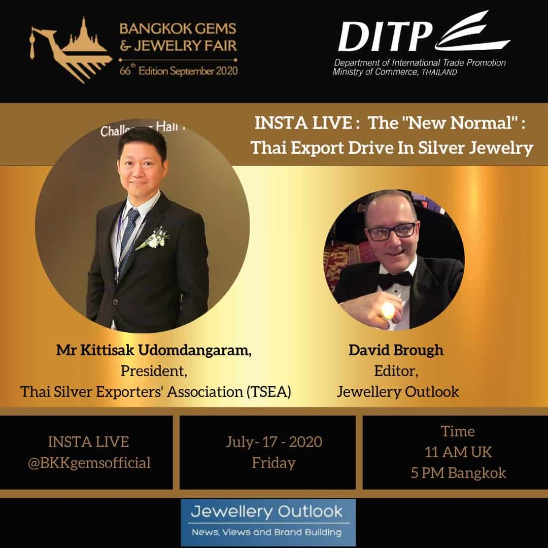 Bangkok Gems & Jewelry Fair, DITP ,Jewellery Outlook