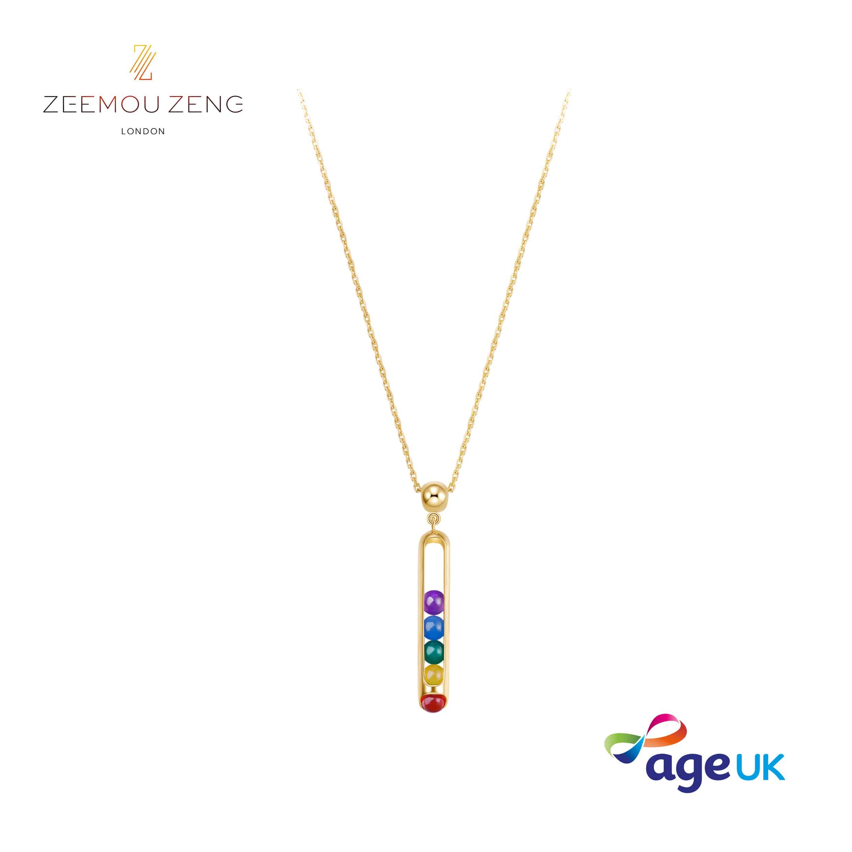 Zeemou Zeng RAINBOW NECKLACE
