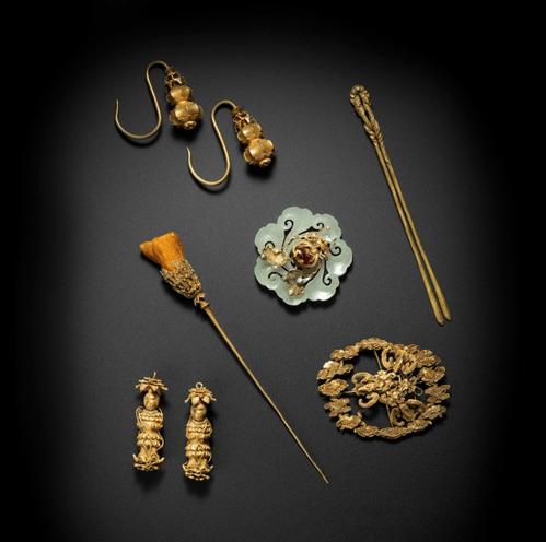 Chinese Elegant embellishments