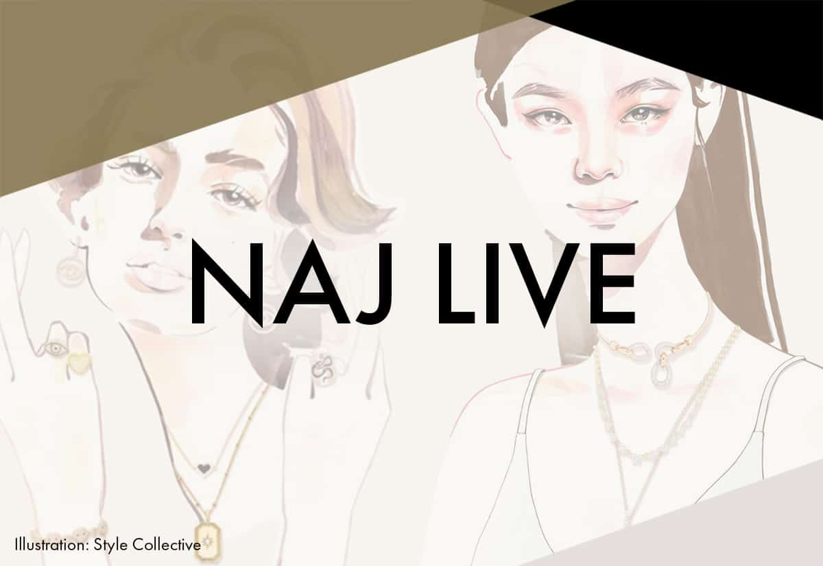 Jewellery Trends; past, present and future form August's digital NAJ Live theme
