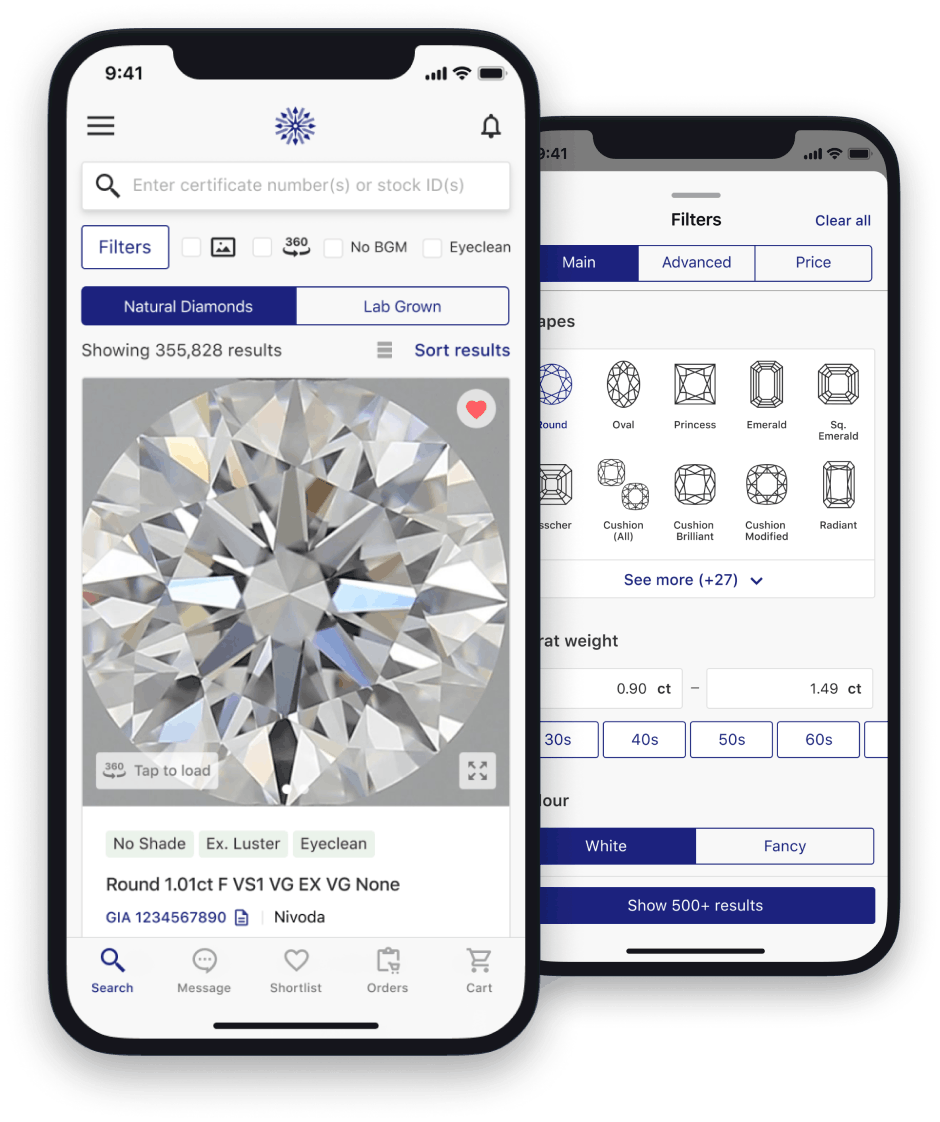 Nivoda delivers mobile app and unveils lab-grown diamonds