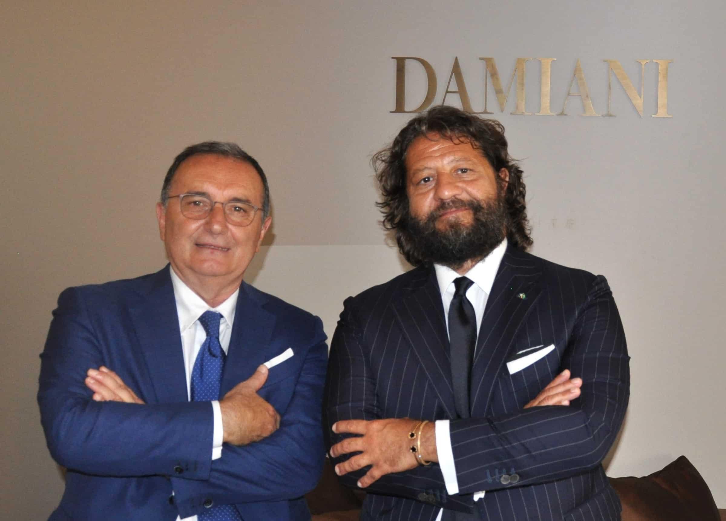 Paolo Cesari - Assogemme e Guido Grassi Damiani - Damiani__ Group