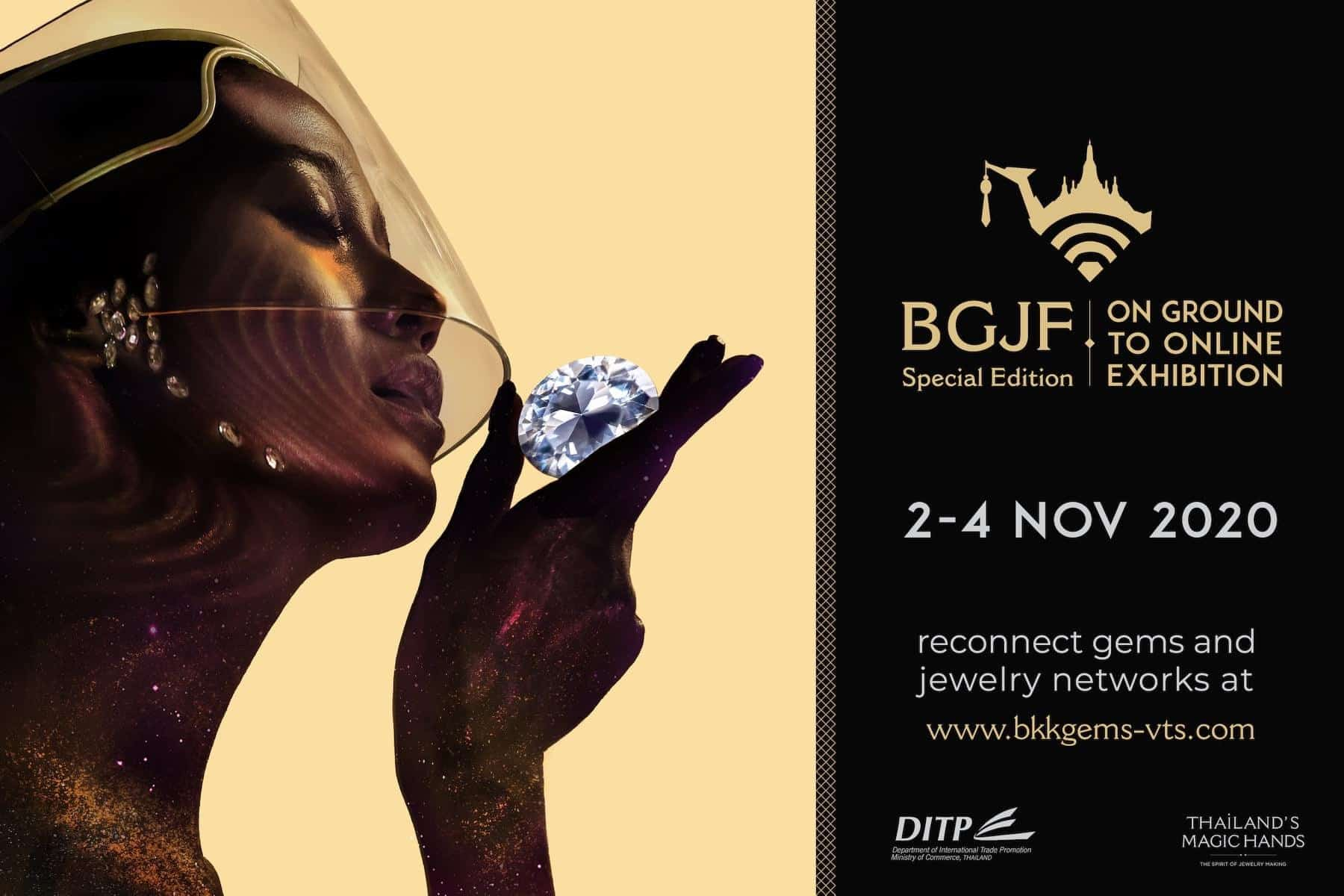 Thailand's DITP (Commerce Ministry) to organise November 2-4 virtual gems and jewelry trade event