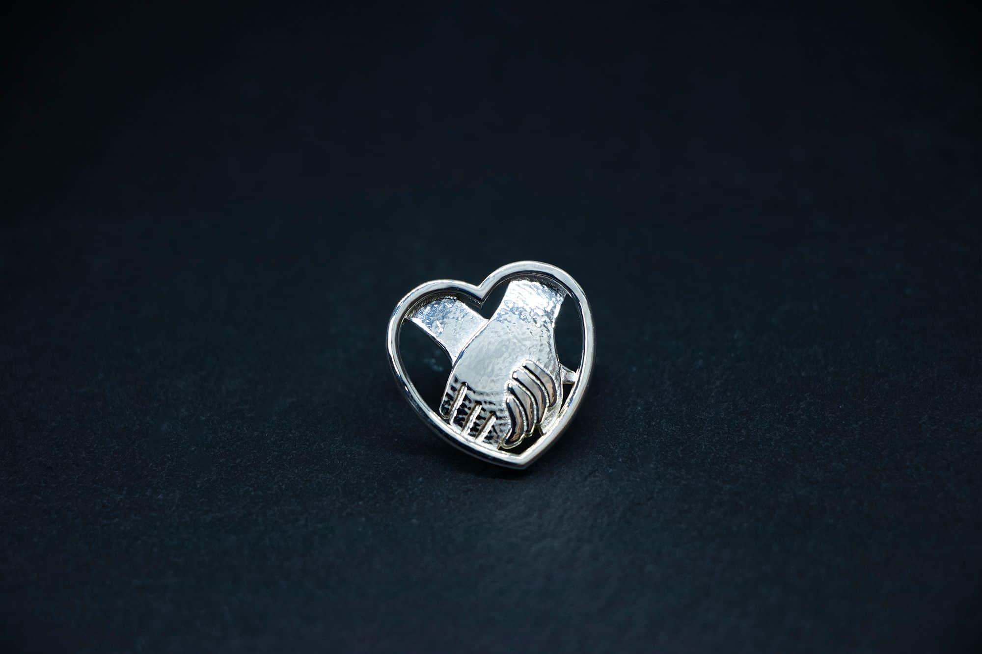 Pins of Praise jewellery, BAJ