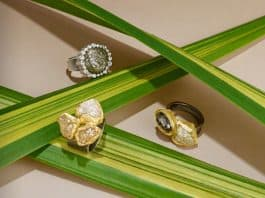Organic & Earthy Commitment Rings