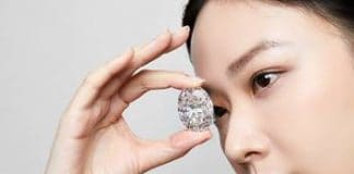 102.39-carat D Colour Flawless Oval Diamond