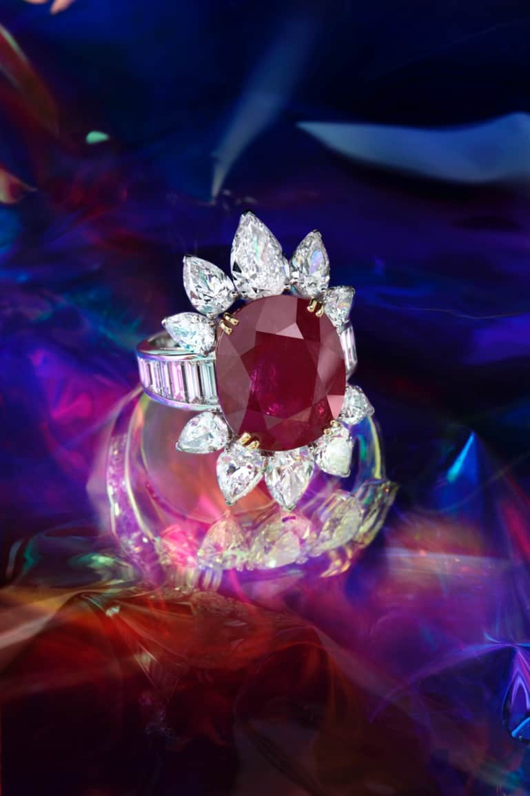 A Ruby and Diamond Ring, by Repossi