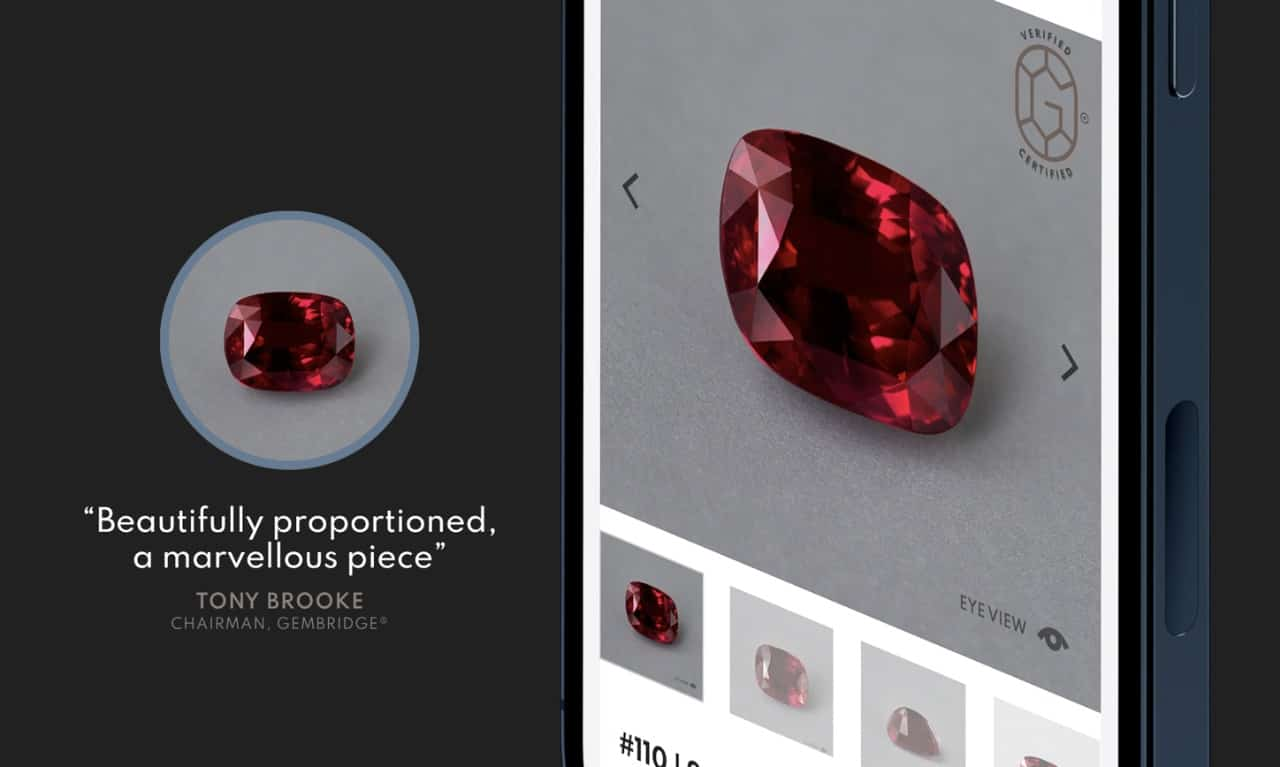 5-carat Mozambique ruby ring from Diamrusa