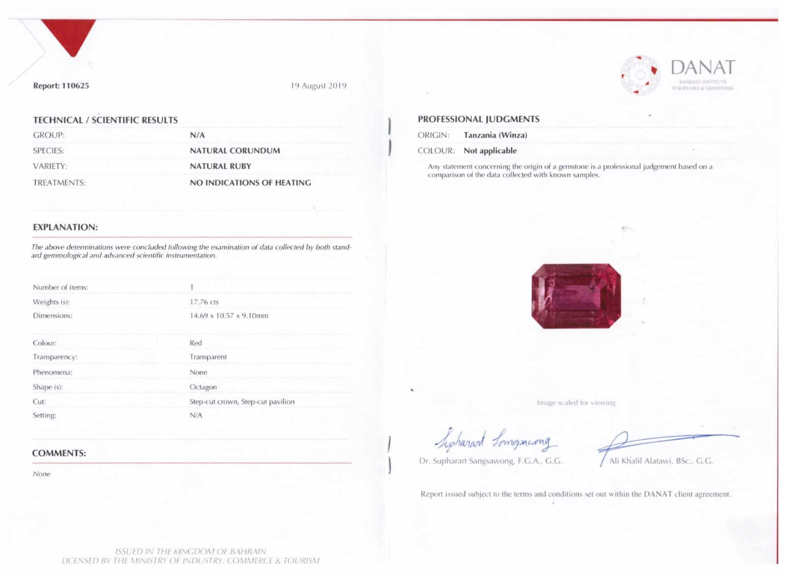 UPCOMING INSTA LIVE – Magnificent, ultra-rare Tanzanian ruby leads Gembridge listings