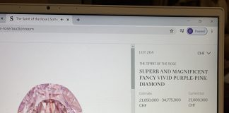 purple-pink diamond