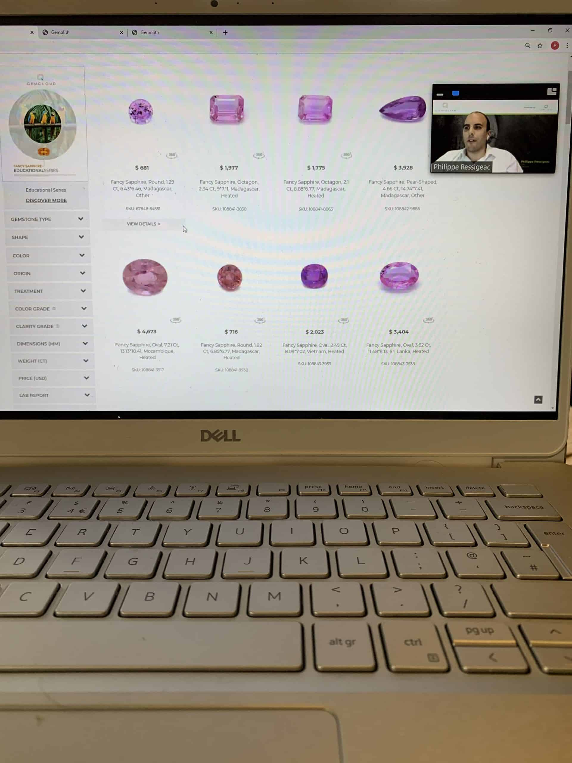 GemCloud unveils its coloured gemstone digital trading platform