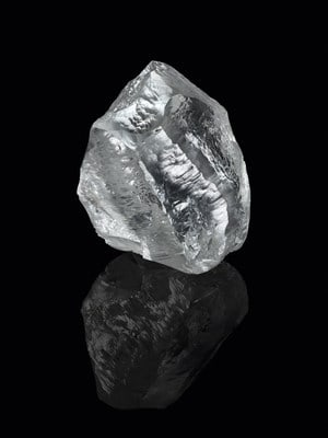 "Lucara announces agreement with Louis Vuitton, and HB Antwerp for 549-carat white diamond ""Sethunya"""