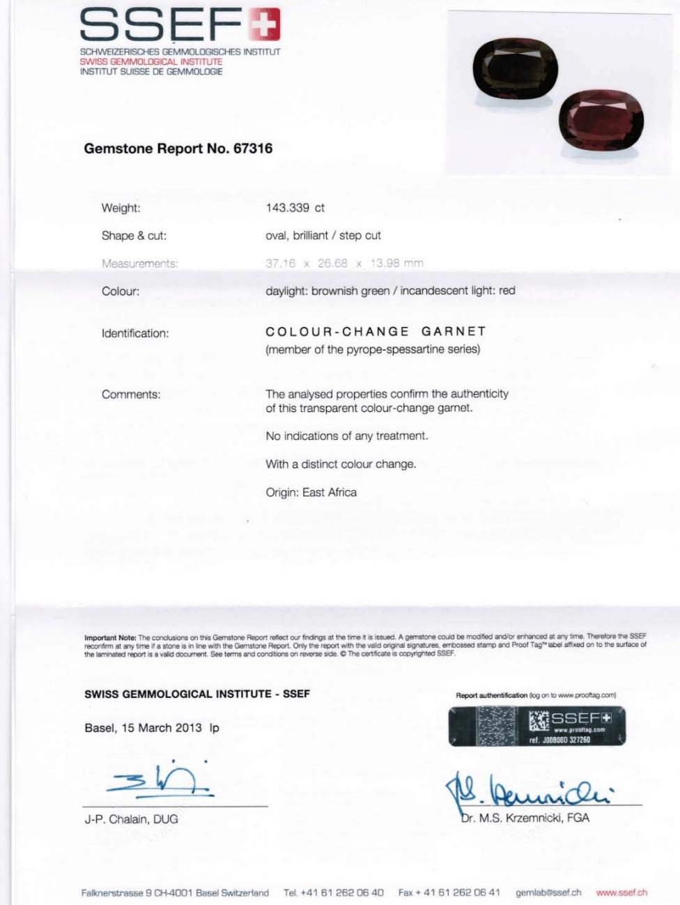 SSEF Certification