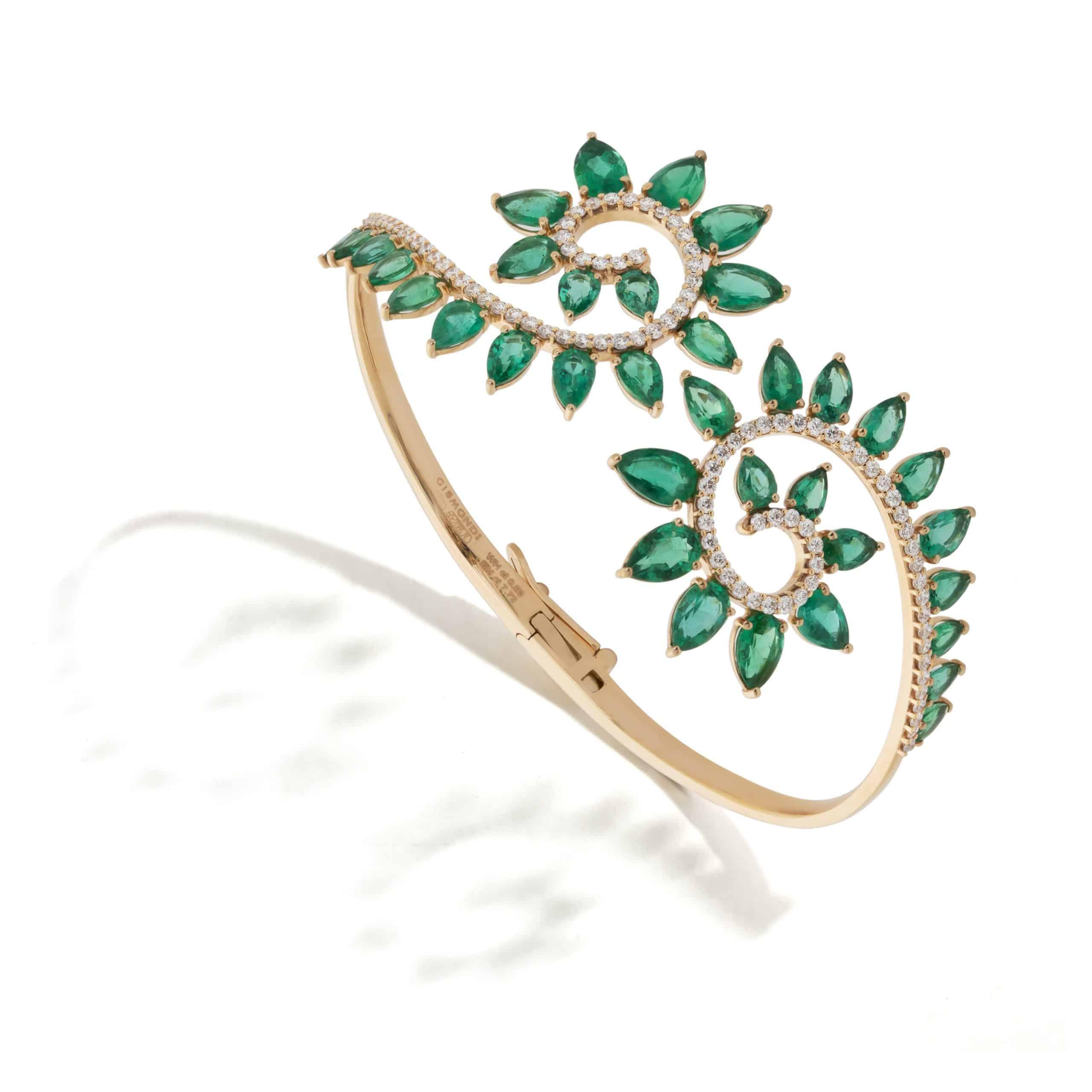 Genesi by Gismondi 1754 – Haute Holiday in White Diamonds and Emeralds