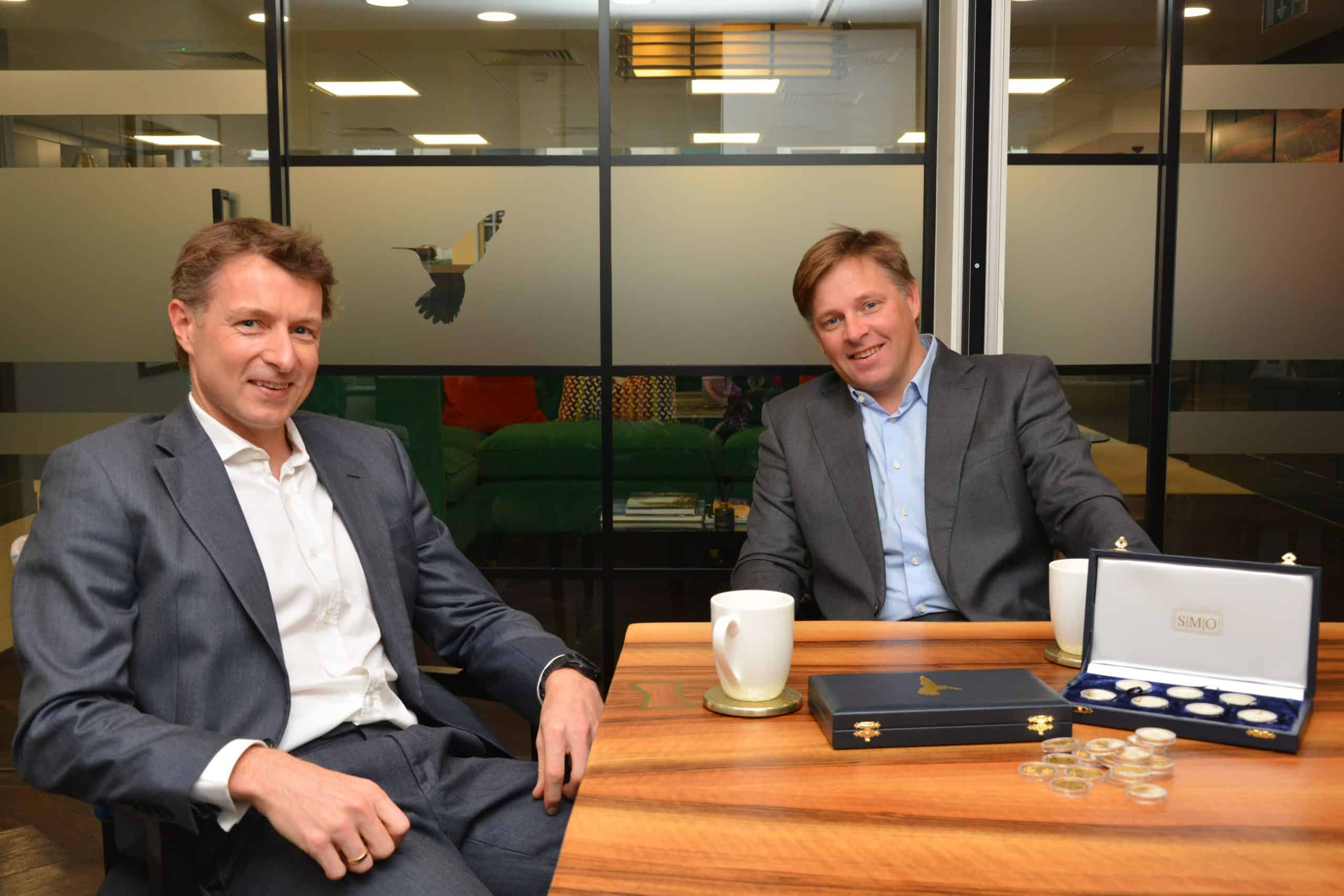Betts Group managing director, Charlie Betts with brother Dan Betts