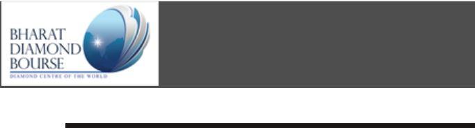 Bharat Diamond Bourse logo
