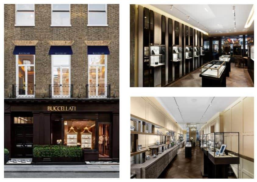 Buccellati's flagship store