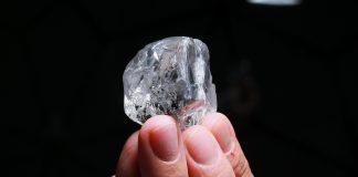 378-carat white gem diamond