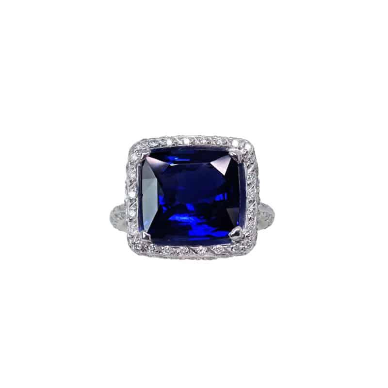 12.01-ct sapphire ring