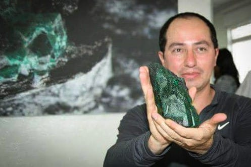 Guillermo Galvis, President of the Colombian Emerald Exporters